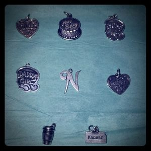 8 James Avery charms